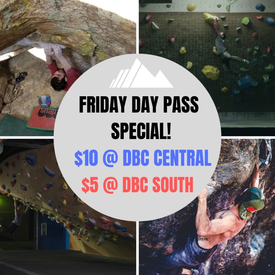 FRIDAY DAY PASS FLASH SALE